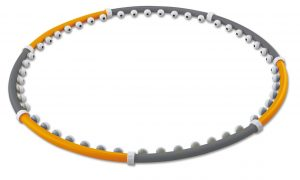 hula hoop z masażerem